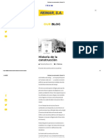 Historia de la construcción _ Reinar S.A