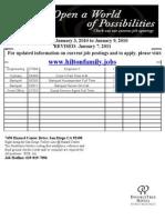 Doubletree Hotel Job Postings