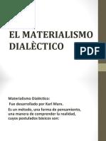 Dialectica materialista y materialismo Historico