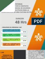 PRESENTACION DE LA COMPETENCIA Y PRIMER RAP