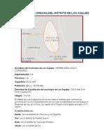 PLANIFICACIÓN URBANA DEL DISTRITO DE LOS AQUIJES