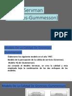 Modelo Servman (Gronroos-Gummesson)