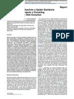 Bond et al 2014 Phylogenomics resolves a backbone spider phylogeny-With suppl data.pdf