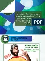 1. Presentación Resolución 0312 de 2019.pptx