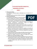2-PROYECTO DE BASE DE DATOS 2020-I