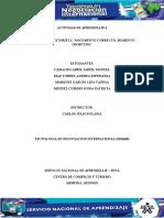 "Evidencia 4 Historieta ""Documento correcto, momento oportuno"""