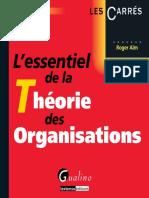 Roger Aïm - L'essentiel de la théorie des organisations-Gualino (2012).pdf