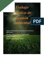 Gestion Ambiental. Influencia de la luna en la silvicultura y agricultura