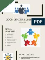 Good Leader By Kelompok B