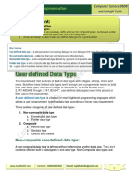 User-Defined-Data-Types