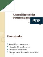 Anormalidades Cromosomas Sexuales
