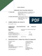 Ficha Tecnica Estoque125EC