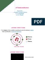 BASICS OF SEMICONDUCTORS PPT