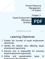 Chapter 3 Equal Employment Opportunity, Affirmative Action _ workforce diversity.ppt