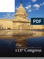 FAIR Imm. Agenda for 112th congress