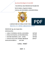 Informe N°4 - Intercambiadores de Calor