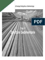 Lezione 05 (parte I) - Strutture Sedimentarie