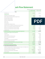 Dabur standalone statement of cash flow