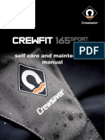 Crewfit 165 Sport Self Care and Maintenance