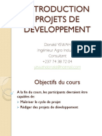 Module 0-Introduction au projet de Dev't