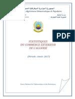 STATISTIQUES-DU-COMMERCE-EXTERIEUR-ALGERIE-ANNEE-2017-source-CNIS-