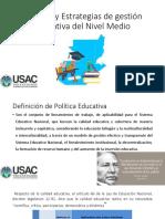 sesion-6-politicas-y-estrategias-de-gestion-educativa-del-nivel-medio