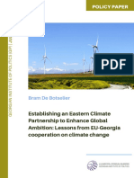 Establishing an Eastern Climate Partnership to Enhance Global Ambition