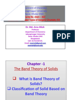 P1 Band Theory of solid