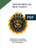 University of Utah investigative report