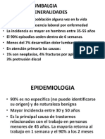 CLASE DE lumbalgia, cervicalgia y hombro 2012