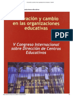 Innovación y cambio en las organizaciones educativas - Dialnet.pdf