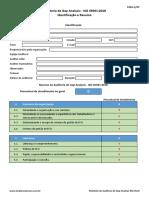 Check List - ISO 45001