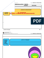 2020-I - Lenguaje y Comunicación III - CLASE 1 Lenguaje, Comunicación y texto