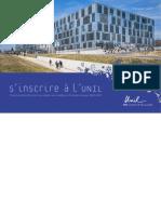 Condicion de matriculación Universidad de Lausanne