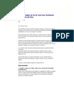 Las 06 Reglas de KoKo para leer fácilmente un Registro de Pozo