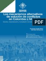 Los mecanismos alternativos  de solución de conflictos en Colombia + MASC.pdf