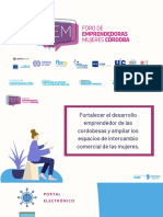 La Provincia lanzó el Foro de Emprendedoras Mujeres Córdoba