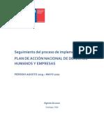 Reporte PAN - Agosto 2019 a Mayo 2020