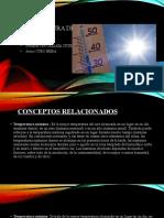 Temperatura del aire METEOROLGIA