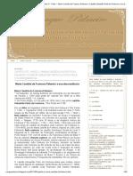 Blog Sangue Palmeiro_ Capítulo IV - Parte I - Maria Candida da Fontoura Palmeiro x Capitão Sebastião Pinto da Fontoura e sua descendência