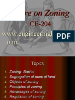 LECTURE 3 Zoning