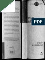 O Que é a Filosofia Antiga - Primeira e Segunda Partes by Pierre Hadot (Z-lib.org)