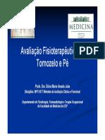 Avaliação Fisioterapêutica do Tornozelo e Pé 2015.pdf