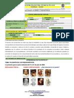 GUIA  DE APRENDIZAJE 1,2 Y 3 JULIO-AGOSTO 2020 FILOSOFIA 10°  PIOXII -