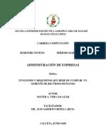 CLASE 3-ADMINISTRACIÓN DE EMPRESAS-OLIVER A. VERA SALAZAR