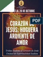 Triduo Eudista al Corazón de Jesús