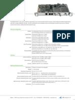 Datasheet-iDirect-M1D1-T_LINE_CARD