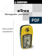 Manual de Uso Del Gps-etrex