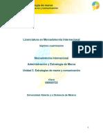 Administración y estrategia de marca-Unidad 3-Estrategias de marca y comunicacion