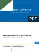 03. PERSPECTIVA CÓNICA UN PUNTO DE FUGA